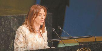 Una latina dirige la Asamblea General de la ONU
