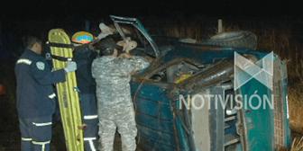 Un muerto en accidente en la carretera a Santa Cruz-Porongo
