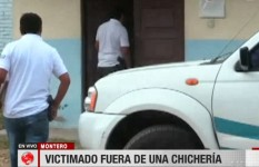 Asesinan a hombre afuera de una chichería en Montero