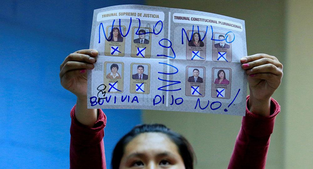 OEA: Sentencia del TCP sobre reelección indefinida subió los votos nulos y blancos en las Judiciales de Bolivia