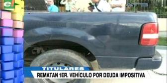 Video titulares de noticias de TV – Bolivia, noche del miércoles 20 de junio de 2018