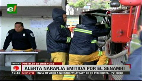 Emergencia Municipal preparada luego de la alerta naranja del Senamhi
