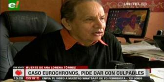 EuroChronos: Exigen al ministro de Gobierno presentar al autor de la muerte de Ana Lorena Tórrez