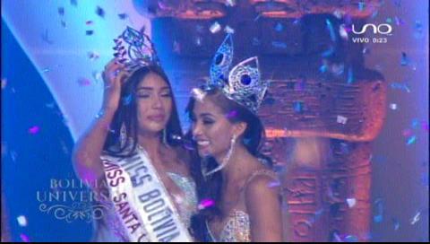 Joyce Prado Ribera es Miss Bolivia Universo 2018
