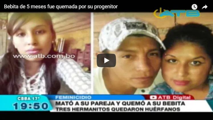 Bebita de 5 meses fue quemada por su progenitor