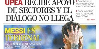 Portadas de periódicos de Bolivia del domingo 17 de junio de 2018