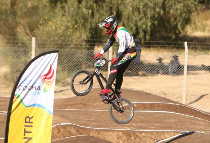 Resultado de imagen para bicicrosista de Bolivia, Jaime Quintanilla,