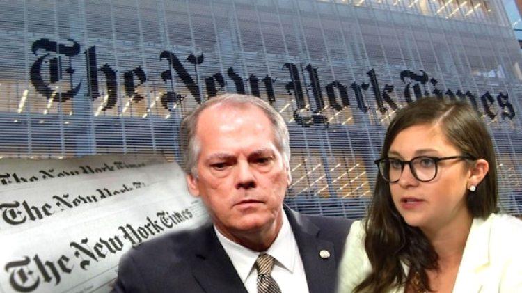 James Wolfe y la periodista del The New York Times Ali Watkins, envueltos en un escándalo de sexo, mentiras y noticias