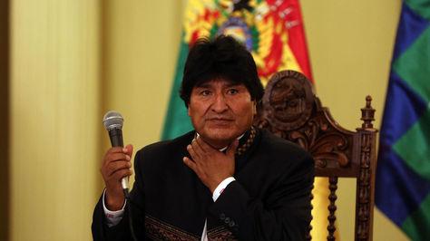 El presidente Evo Morales en una foto de archivo antes de su viaje a Cuba en 2017. Foto: archivo EFE