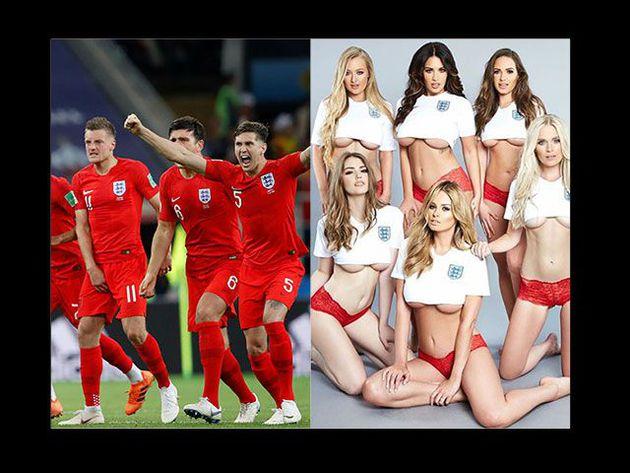 Las fanáticas inglesas que dejan todo por el Mundial
