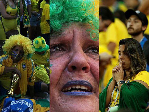 la decepción de los hinchas de la Canarinha