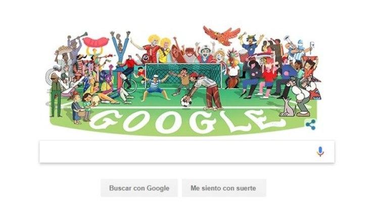 Muchos de los que asisten al Mundial de Fútbol aseguran usar Google casi todo el tiempo