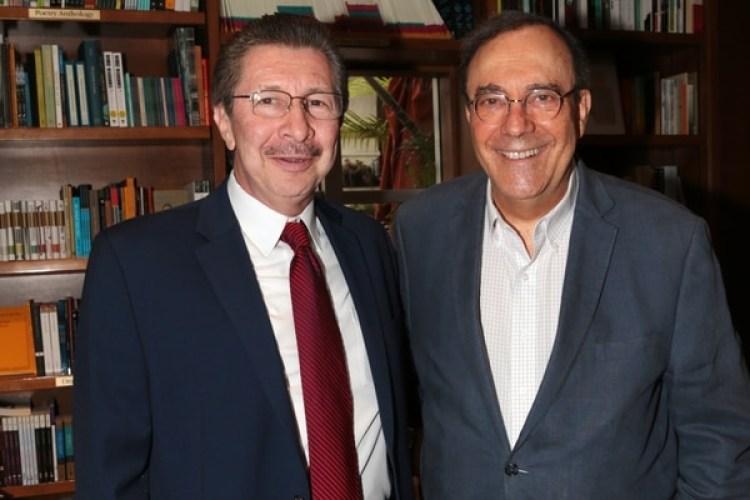 Carlos Sánchez Berzaín y Carlos Alberto Montaner, reconocido periodista, escritor y político cubano