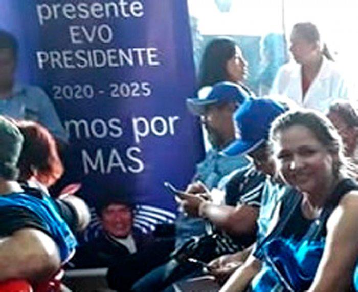 EL MAS Y SUS ORGANIZACIONES SOCIALES SE REUNIERON AYER EN SANTA CRUZ PARA DEFINIR ESTRATEGIAS PREELECTORALES.