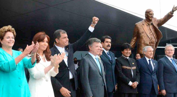 EL 5 DE DICIEMBRE DE 2014, PRESIDENTES DEL BLOQUE INAUGURARON EL EDIFICIO.