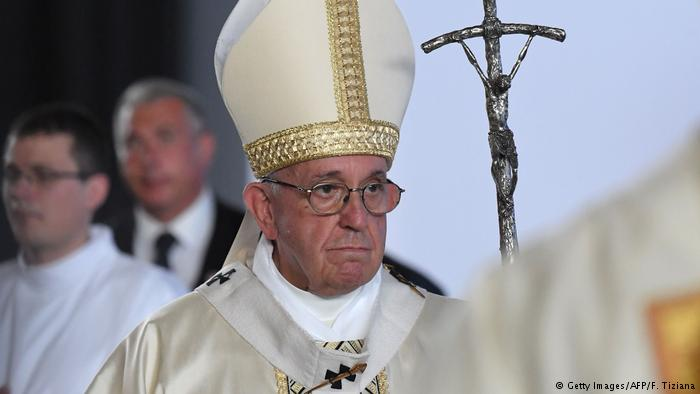 Papst Franziskus (Getty Images/AFP/F. Tiziana)