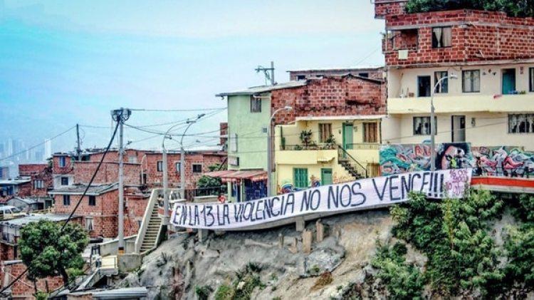Este domingo fueron asesinados tres jóvenes en la Comuna 13 de Medellín.