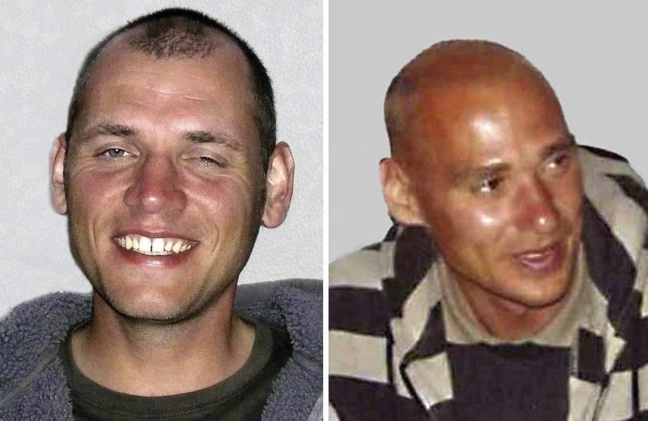 Los otros dos integrantes de la célula, Uwe Böhnhardt y Uwe Mundlos, en imágenes facilitadas por la policía alemana