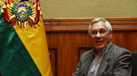 El agente de Bolivia ante La Haya, Eduardo Rodríguez Veltzé durante una entrevista con La Razón. Foto: archivo José Lavayen
