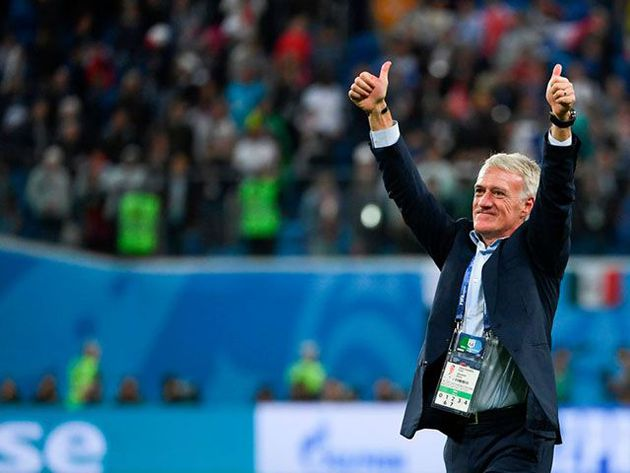 el pedido de los fanáticos franceses a deschamps para la final ante croacia