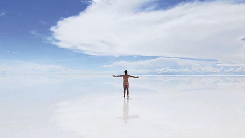 Francés ciego recorrerá a pie 140 kilómetros del salar de Uyuni