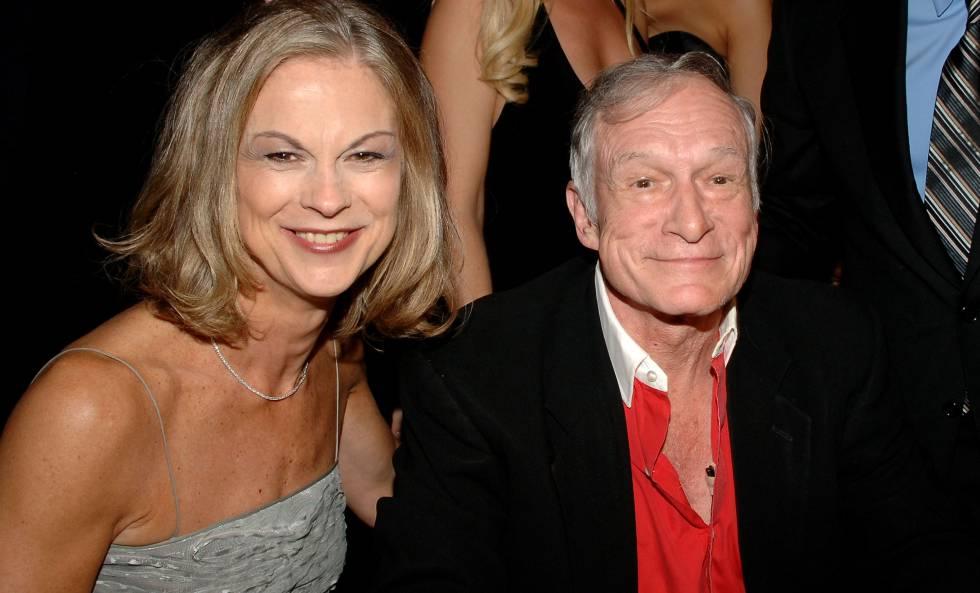 Christie y Hugh Hefner en octubre de 2006.