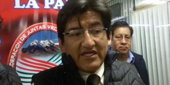 Dirigente Vera insinúa que la Constitución boliviana no reconoce derechos a LGBTI