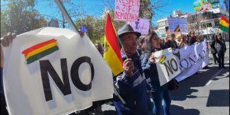 Anuncian acción judicial contra la Policía Boliviana por advertir a grupos del 21F