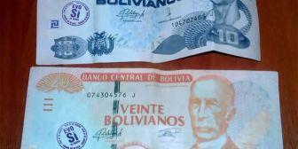 Aclaran que billetes sellados con el 21F y Evo Sí no pierden su valor