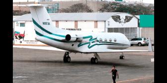 Fiscalía descartó realizar un microaspirado al lujoso jet decomisado en El Trompillo