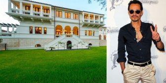 La lujosa mansión que Marc Anthony compró por USD 19 millones a la familia cubana Bacardí en Florida