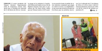 Periódico La Estrella del Oriente – Edición del sábado 21 de julio de 2018