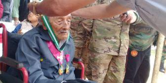 Condecoran al último benemérito del Chaco, en San Ignacio de Velasco