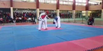 El momento en el que un joven cubano muere en una pelea de taekwondo