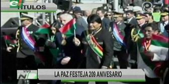 Video titulares de noticias de TV – Bolivia, mediodía del lunes 16 de julio de 2018