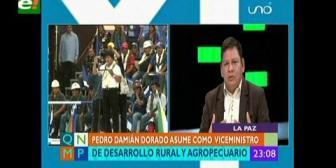Exasambleísta indígena es el nuevo viceministro de Desarrollo Rural y Agropecuario