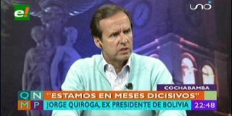 """Tuto Quiroga: """"Estamos en meses decisivos para la Democracia"""""""