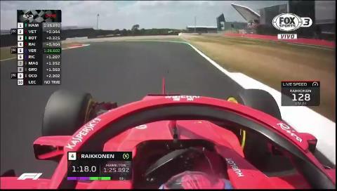 Hamilton se llevó la pole en casa, aunque saldrá rodeado de los Ferrari