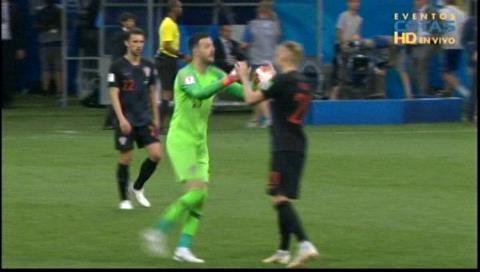 1-1: Rusia y Croacia van al alargue