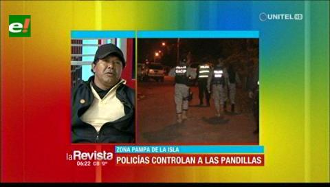 Vecinos del barrio 16 de Julio piden que la Policía continúe patrullando por temor a los pandilleros