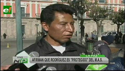 Senador de UD: No incluyen a Rodríguez Veltzé en el caso Quiborax porque es masista