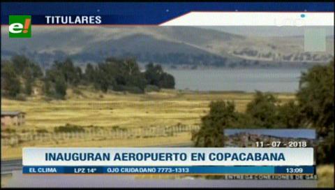 Video titulares de noticias de TV – Bolivia, mediodía del miércoles 11 de julio de 2018