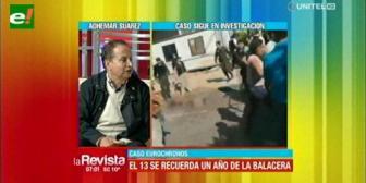 Eurochronos: Esperan que la Fiscalía impute al director de la Felcc por la muerte de Ana Lorena Tórrez