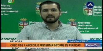 Gobernación cruceña apoyará a municipios afectados por fenómenos climáticos