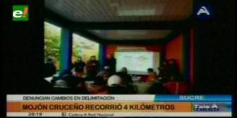 Sucre: Comisión revisará mojones y señalizaciones de límites