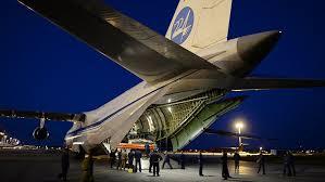 La aviación rusa traslada más de 40 toneladas de ayuda humanitaria de Francia a Siria