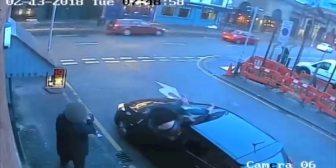Un drogadicto en Manchester mató a su novia y saltó de un segundo piso para escapar