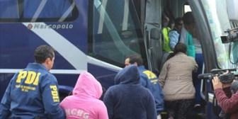 Expulsan de Chile a 36 bolivianos por narcotráfico