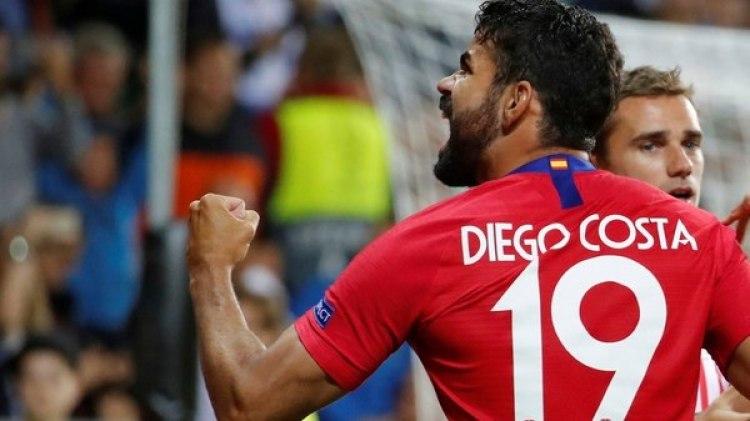 Diego Costa marcó el 1 a 0 ante del minuto de juego (Reuters)