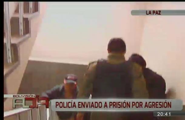 Subteniente de la Policía a prisión por agresión